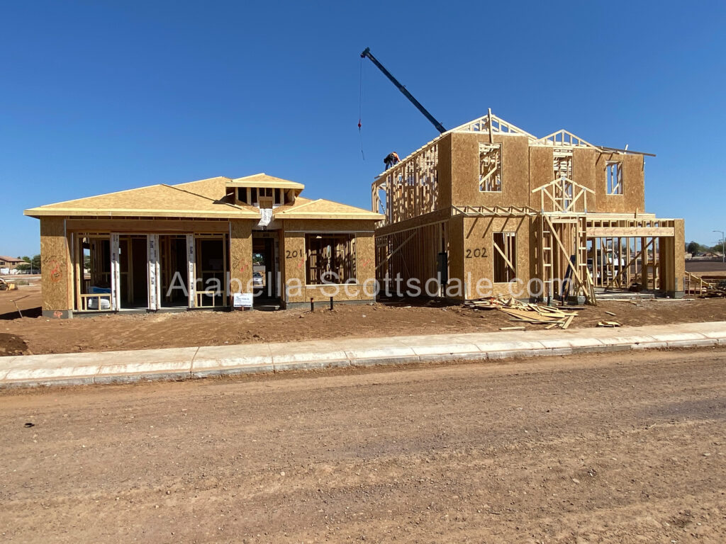 Model Homes being Built